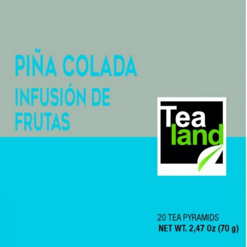 Pirámides infusión de frutas piña colada