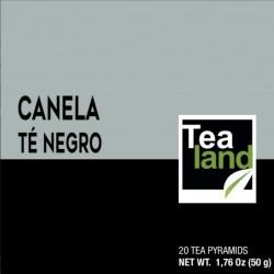 Pirámides té negro canela