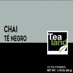 Pirámides té negro chai