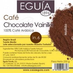 Café de chocolate vainilla