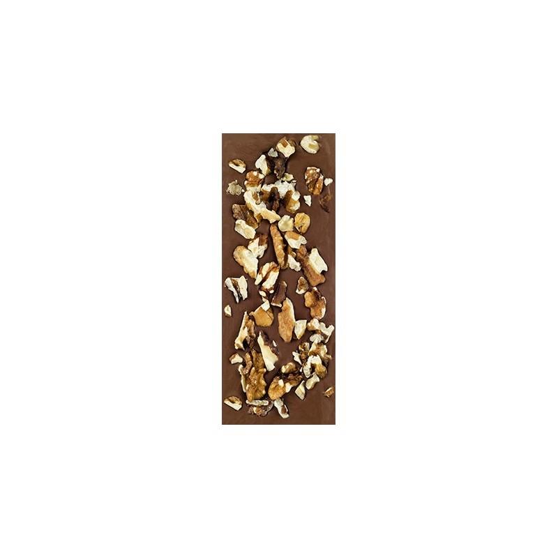 Chocolate con leche ecológico con nueces La Virgitana