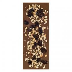 Chocolate con leche ecológico con avellanas y pasas La Virgitana