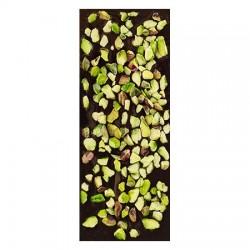 Chocolate negro ecológico 72% cacao con pistacho La Virgitana