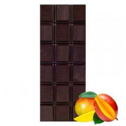 Chocolate negro ecológico 72% cacao con mango La Virgitana