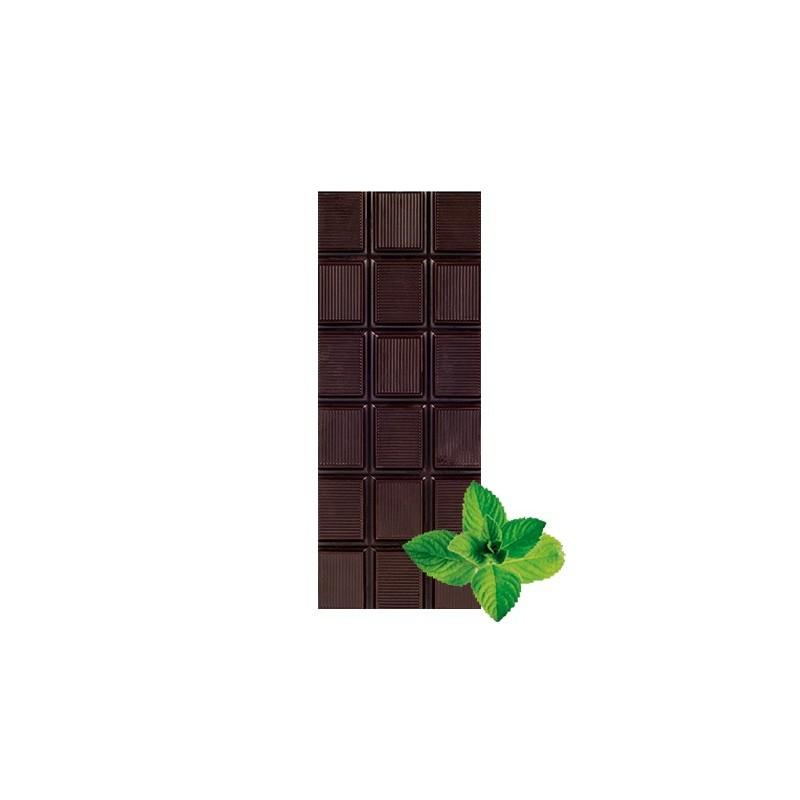Chocolate negro ecológico 72% cacao con menta La Virgitana