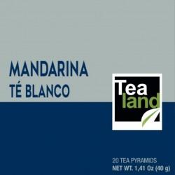 Pirámides té blanco mandarina