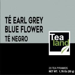 Pirámides té negro earl grey blue flower