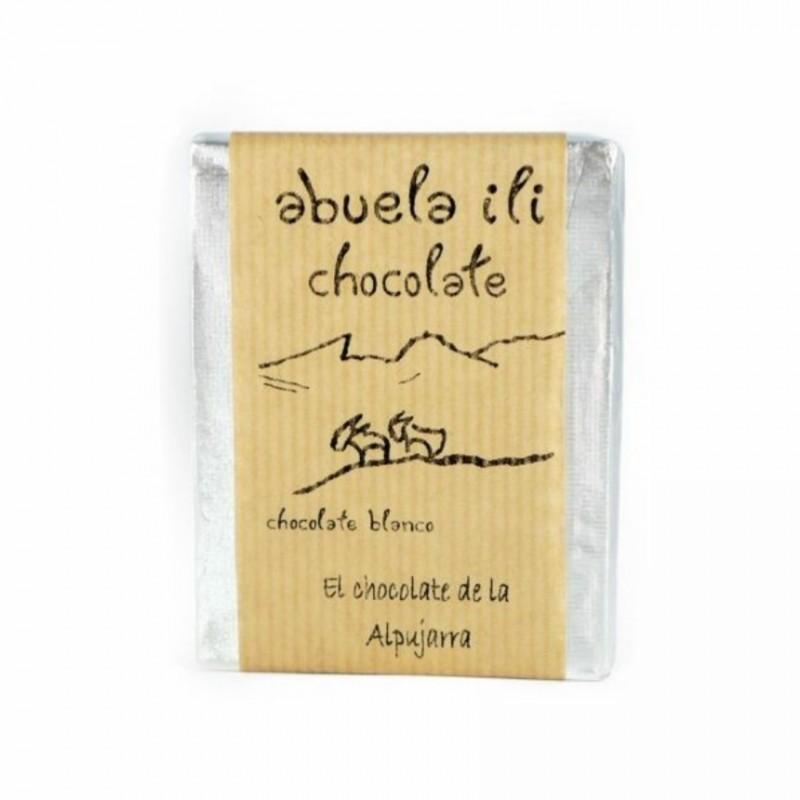 Chocolate blanco con mandarina