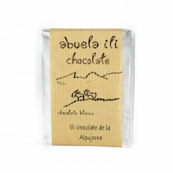 Chocolate blanco con queso de cabra