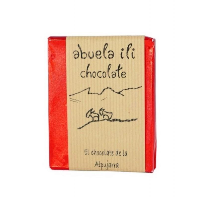 Chocolate negro con chili