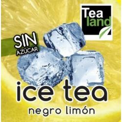 Té frío negro limón