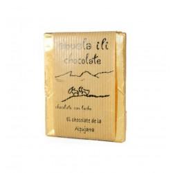 Chocolate con leche y dulce de leche Abuela Ili