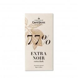 Chocolate negro 77% Café-Tasse