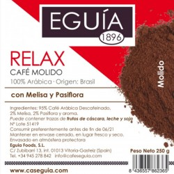 Café Relax arábica tueste natural origen Brasil