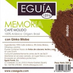 Café Memoria arábica tueste natural origen Brasil
