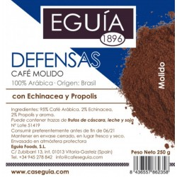 Café Defensas arábica tueste natural origen Brasil