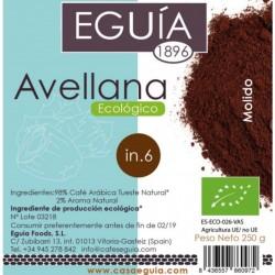 Café de avellana ecológico arábica tueste natural origen Brasil