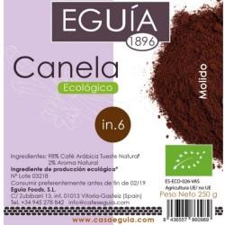Café de canela ecológico arábica tueste natural origen Brasil