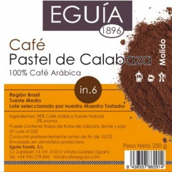 Café de pastel de calabaza arábica tueste natural origen Brasil