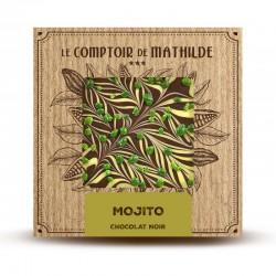 Chocolate negro mojito Le Comptoir de Mathilde