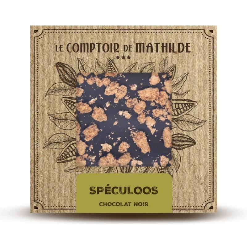 Chocolate negro con spéculoos Le Comptoir de Mathilde