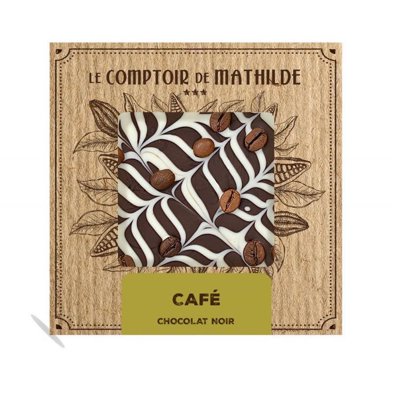 Chocolate negro café crema le comptoir de Mathilde