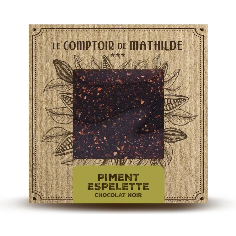 Chocolate negro con pimienta de Espelette Le Comptoir de Mathilde