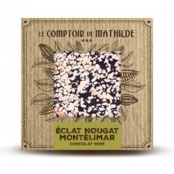 Chocolate negro con nougat de Montelimar Le Comptoir de Mathilde
