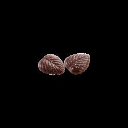 Hojas finas 70% cacao con sal de mar II