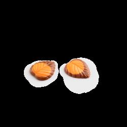 Hojas finas chocolate con leche y fruta de la pasión lata maxi II