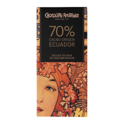 Chocolate 70% cacao Ecuador Amatller