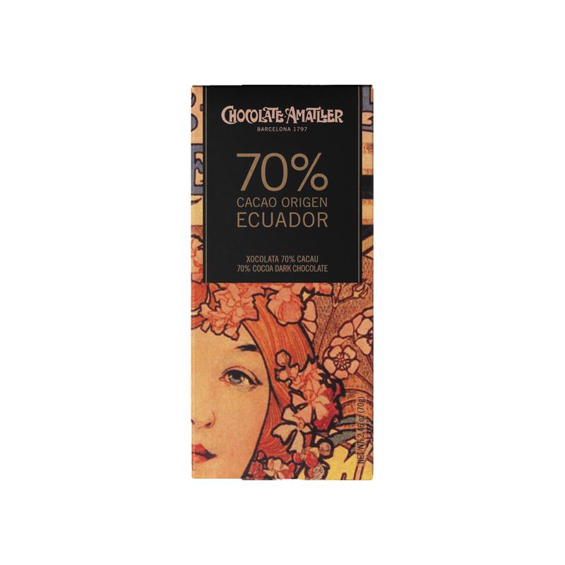 Chocolate 70% cacao Ecuador Amatller