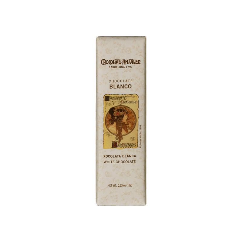 Chocolatina blanca Amatller