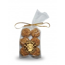 Rocas crunch chocolate gold con caramelo Tazitas