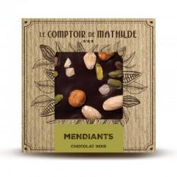 Chocolate negro con frutos secos y naranja Le Comptoir de Mathilde