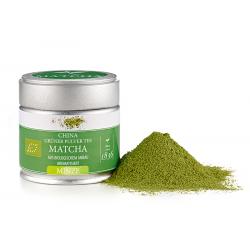 Té verde matcha chino orgánico menta 30 g