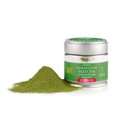 Té verde matcha chino orgánico fresa 30 g
