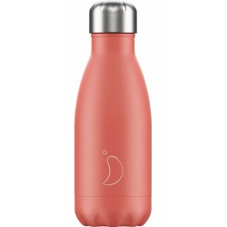 Botella termo pastel coral 260 ml Chilly´s
