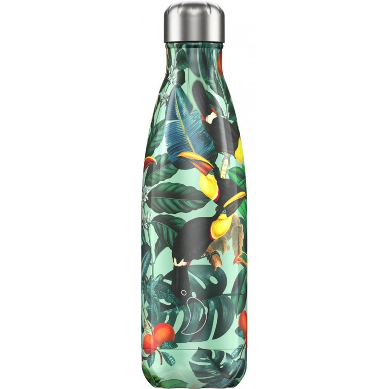 Botella termo Tropicale Toucan 500 ml Chilly´s