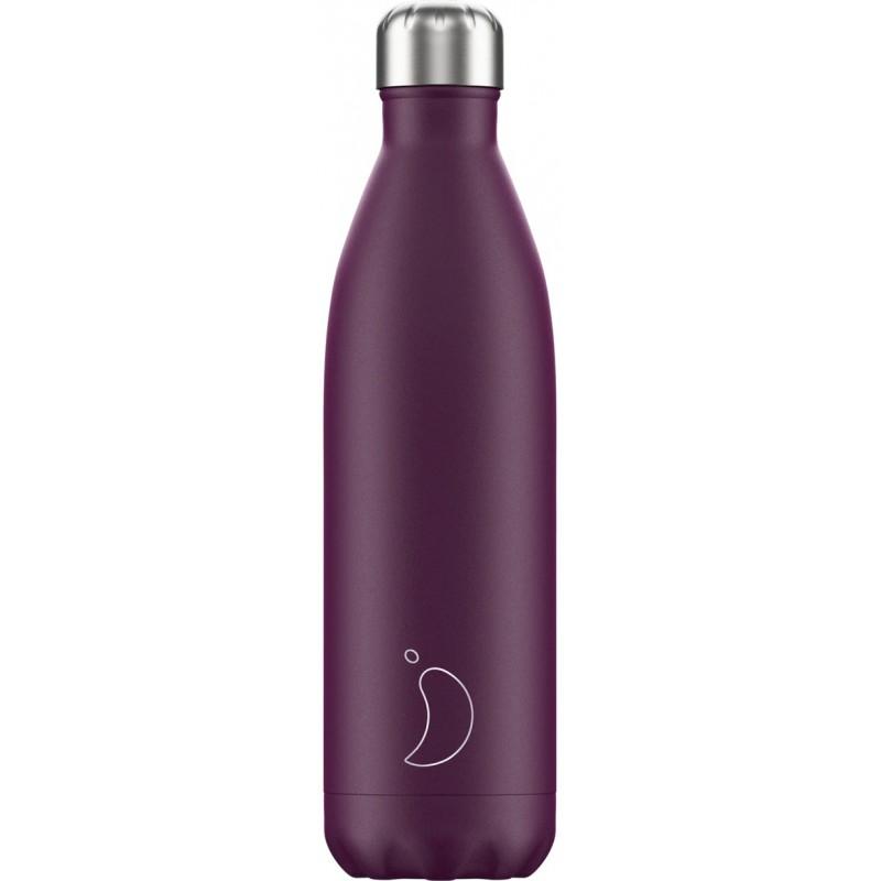 Botella termo mate púrpura 750 ml Chilly´s