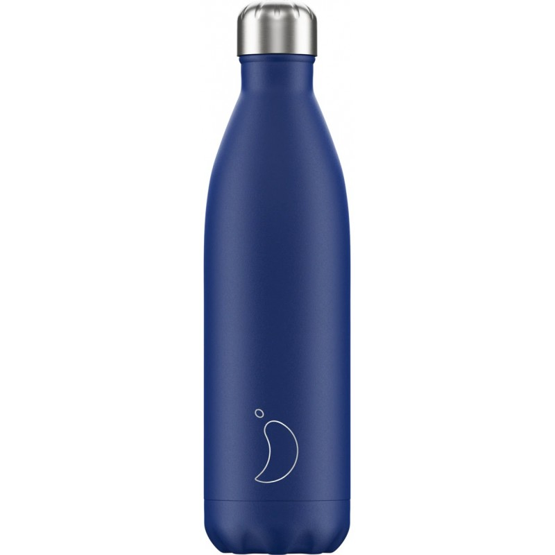 Botella termo mate azul 750 ml Chilly´s