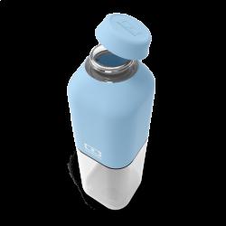 Botella reutilizable 500 ml azul crystal Monbento II