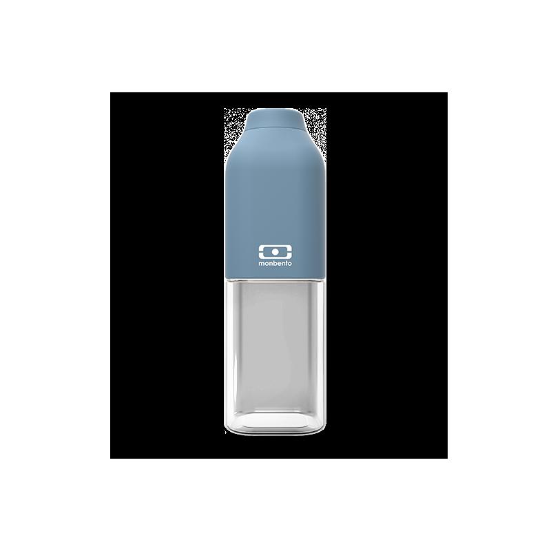 Botella reutilizable azul denim 500 ml Monbento I