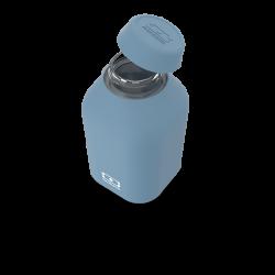 Botella reutilizable azul denim 500 ml Monbento II