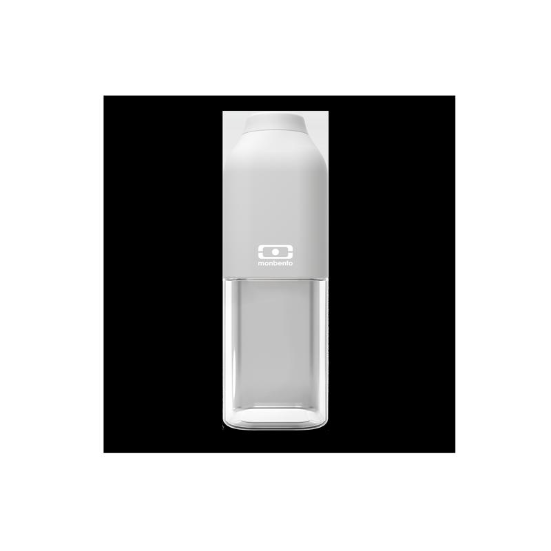 Botella reutilizable gris coton 500 ml Monbento I