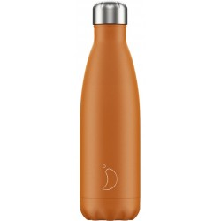 Botella termo mate naranja 500 ml Chilly´s