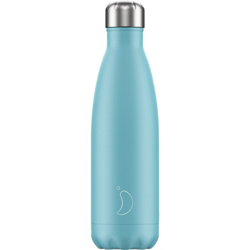 Botella termo pastel azul 500 ml Chilly´s