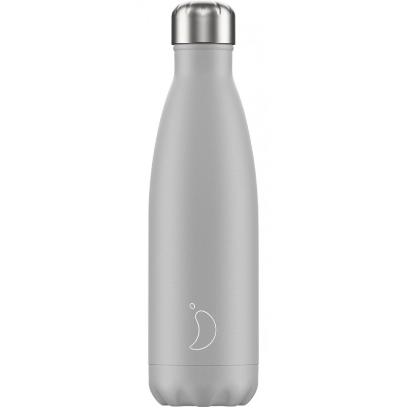 Botella termo mono gris pálido 500 ml Chilly´s