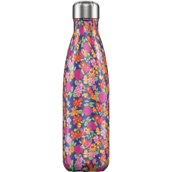 Botella termo floral wild roses 500 ml Chilly´s