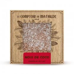 Chocolate con leche con coco caramelizado Le Comptoir de Mathilde